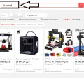 Покупка 3D принтера на сайте AliExpress